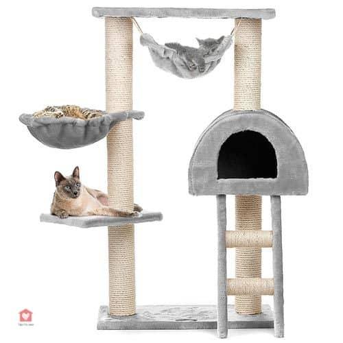 arbre chat g ant notre s lection pour le plus grand. Black Bedroom Furniture Sets. Home Design Ideas